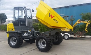 Wacker Nueson 9 tonne dumper with aicon cab 1