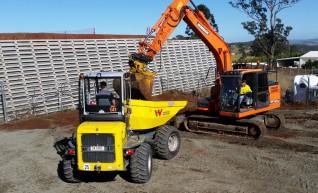 Wacker nueson 9 Tonne Site Dumper swivel tipper 1