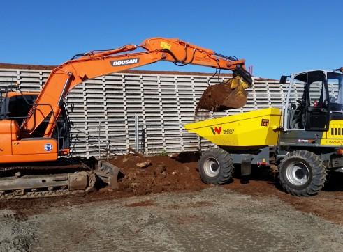 Wacker Nueson 9 tonne site dumper 2