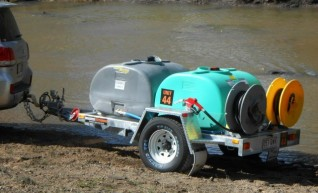 Water and Diesel Supply Trailers 1