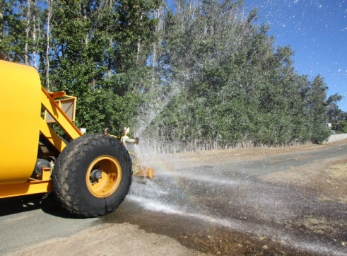 WATER CART FOR HIRE JCB FASTRAC 3220 AVAILABLE NOW 2