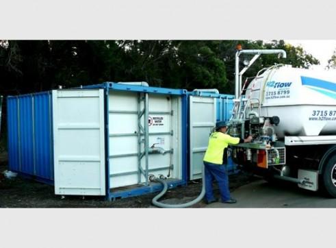 Water Tank Hire 28,000 - 56,000L 3
