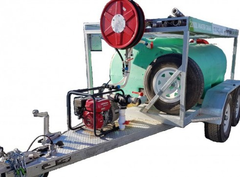 Water Trailer - 2000L Tank & Pump