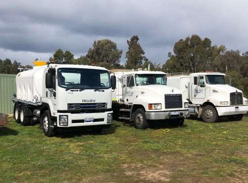 Water truck - 14,000L 3