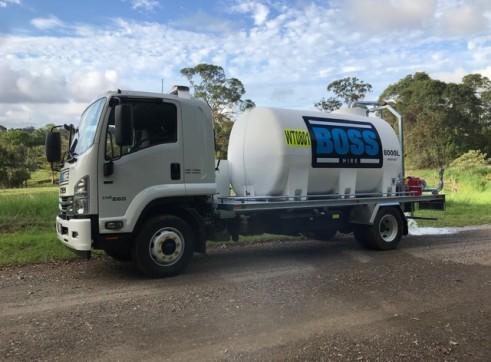Water Truck 7000 ltr 2