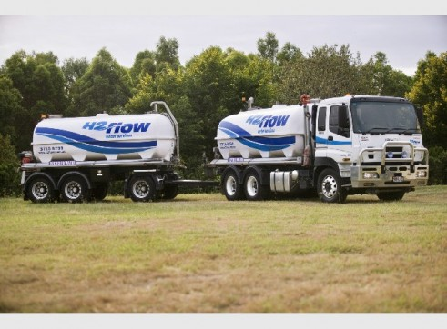 Water Trucks 6,000 - 30,000L - 30 Available in Fleet 2