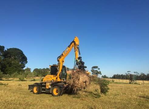 11T JCB Hydradig W110 Wheeled Excavator 4