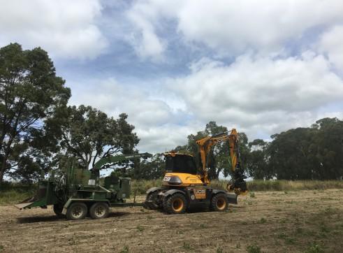 11T JCB Hydradig W110 Wheeled Excavator 5