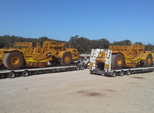 Widening Drake Low Loaders with Dolly to 50 Tonne 1
