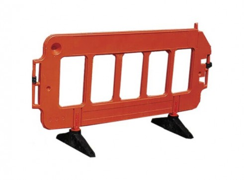 Workzone Pedestrain Barriers - Interlocking 1