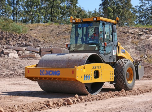 XCMG XS123 / XS123PD Road Compaction Rollers