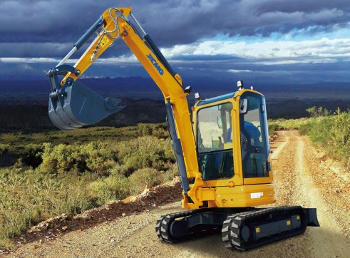 4T XCMG XE35U Mini Excavator 5