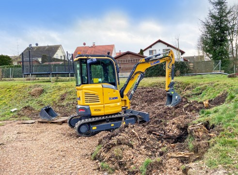 4T XCMG XE35U Mini Excavator 6