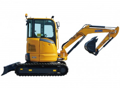 4T XCMG XE35U Mini Excavator 3