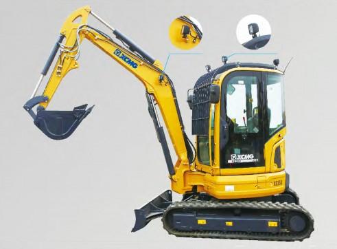 4T XCMG XE35U Mini Excavator 7