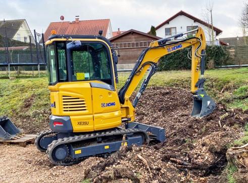 4T XCMG XE35U Mini Excavator 1
