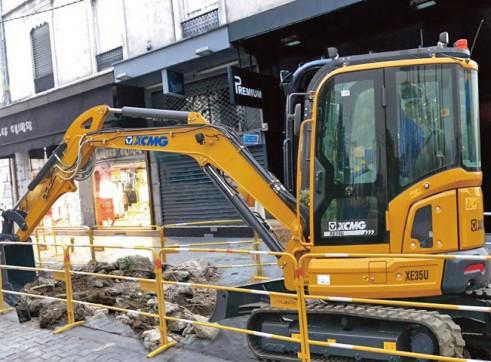 4T XCMG XE35U Mini Excavator 4