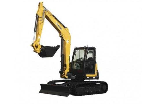 Yanmar 10t Excavator (a/c cab)