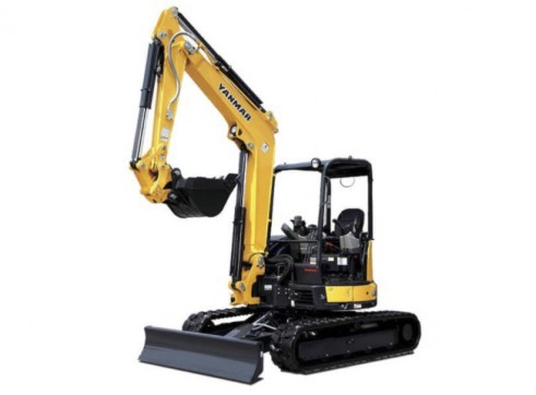 Yanmar 4.5t Mini Excavator (a/c cab optional) 1
