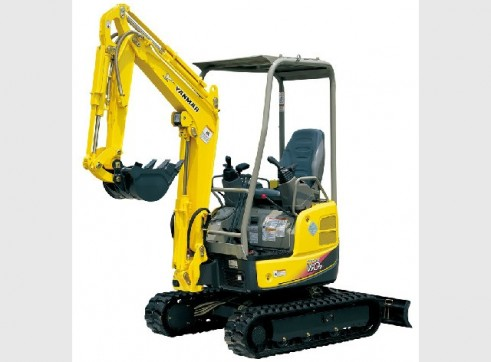 Yanmar Excavator Vio17 1.7t machine 3