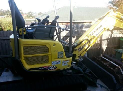 Yanmar Excavator Vio17 1.7t machine 2