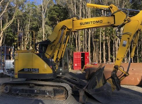 Zero Swing - 15T Sumitomo Excavator 4