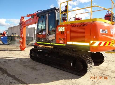 Zx210 Hitachi 20T Excavator 2
