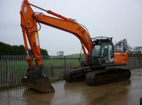 ZX280LC-3 Hitachi  28T Tracked Excavators x2