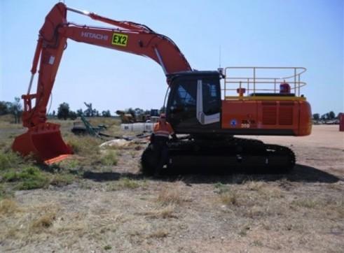 ZX350 Hitachi Excavator 35T